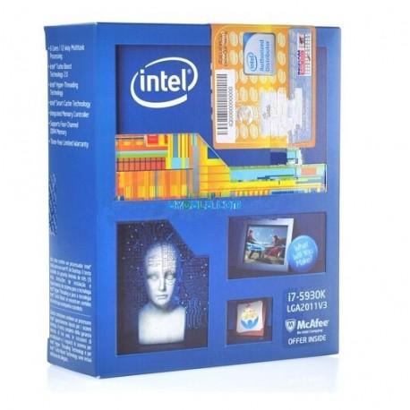 CPU Intel Core i7 - 5930K (Box Ingram/Synnex)