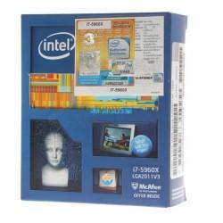 CPU Intel Core i7 - 5960X (Box Ingram/Synnex)