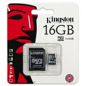 Micro SD 16GB Kingston (SDC4, Class 4)
