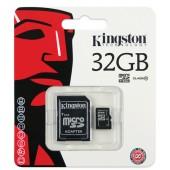 Micro SD 32GB Kingston (SDHC, Class 10)
