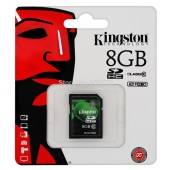 SD Card 8GB Kingston (SD10V, Class 10)