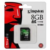 SD Card 8GB Kingston (SD10V, Class 10)