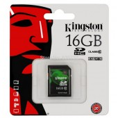 SD Card 16GB Kingston (SD10V, Class 10)