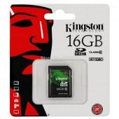 SD Card 16GB Kingston (SD10V, Class 10)