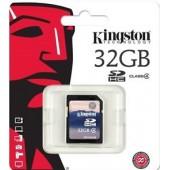 SD Card 32GB Kingston (SD4, Class 4)