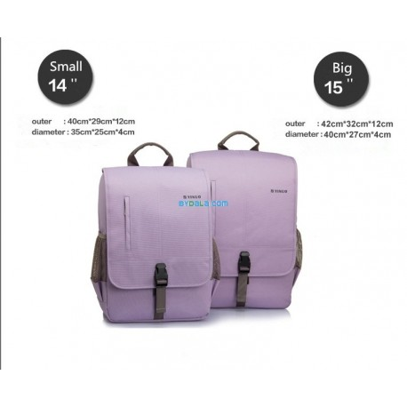 YINUO Guard against theft MacBook backpack15.6''14''17.3''